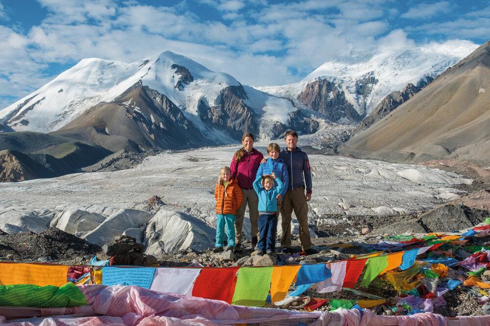Familie Zwahlen – Mit Kindern im Himalaya