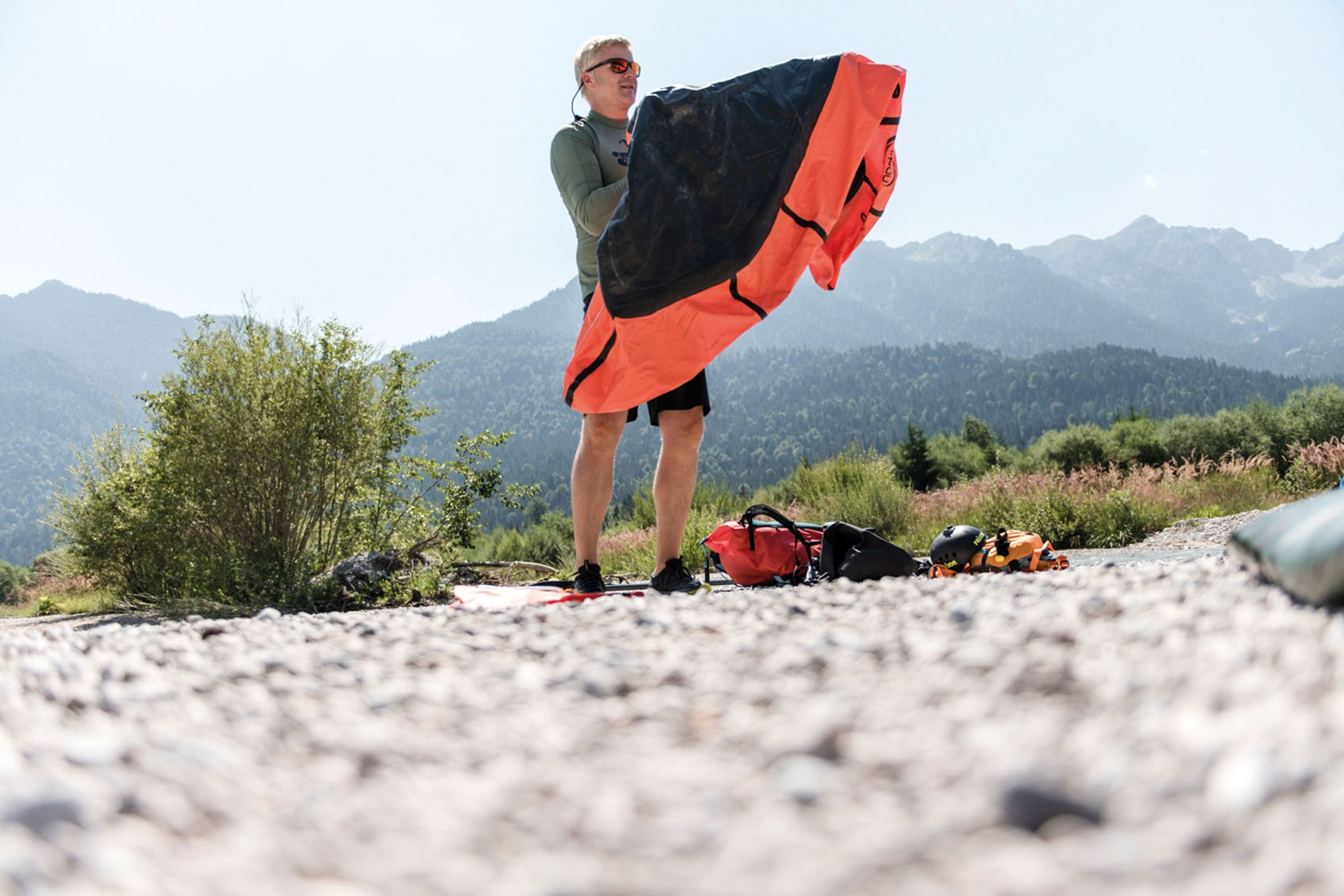 Auf zu neuen Ufern – Packraft
