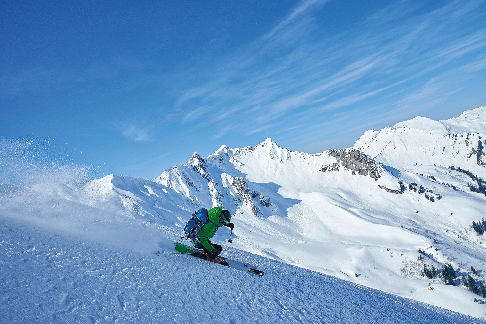 Ski-Transalp – Abenteuer Alpenüberquerung. Durchs Variantenreich