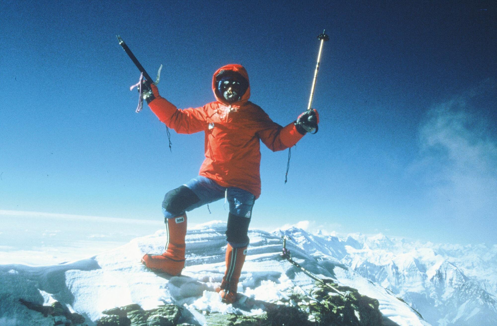 Auf ein Wort mit Alpinist Jean Troillet