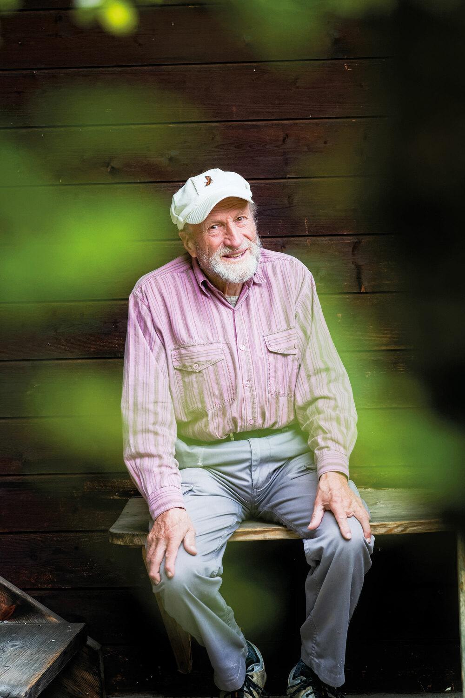 Zu Besuch beim Wildnis-Philosophen Martin Epp