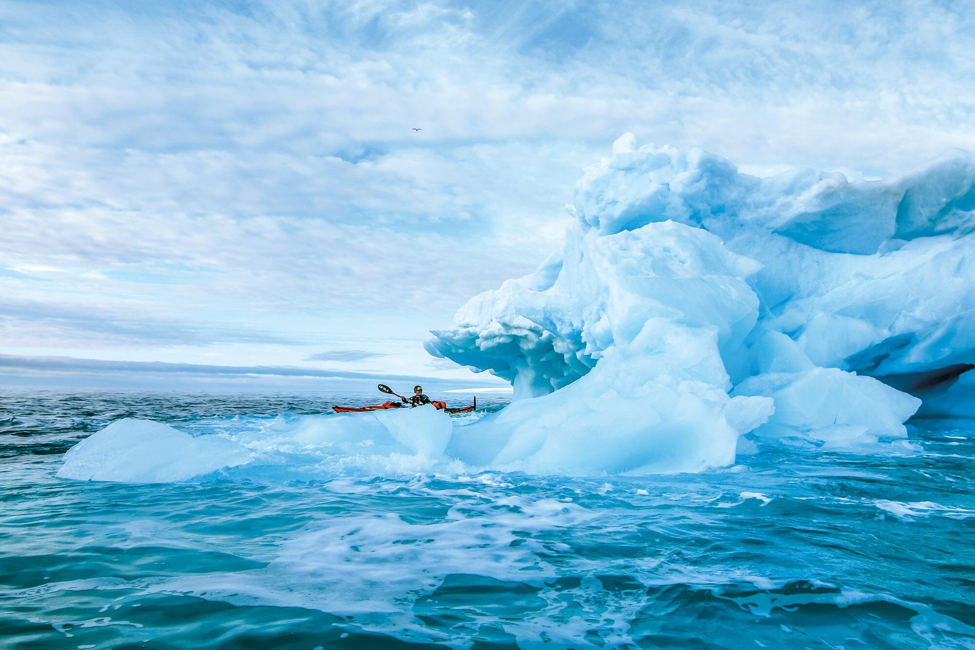 Pioniertat – mit dem Seekajak um Spitzbergen