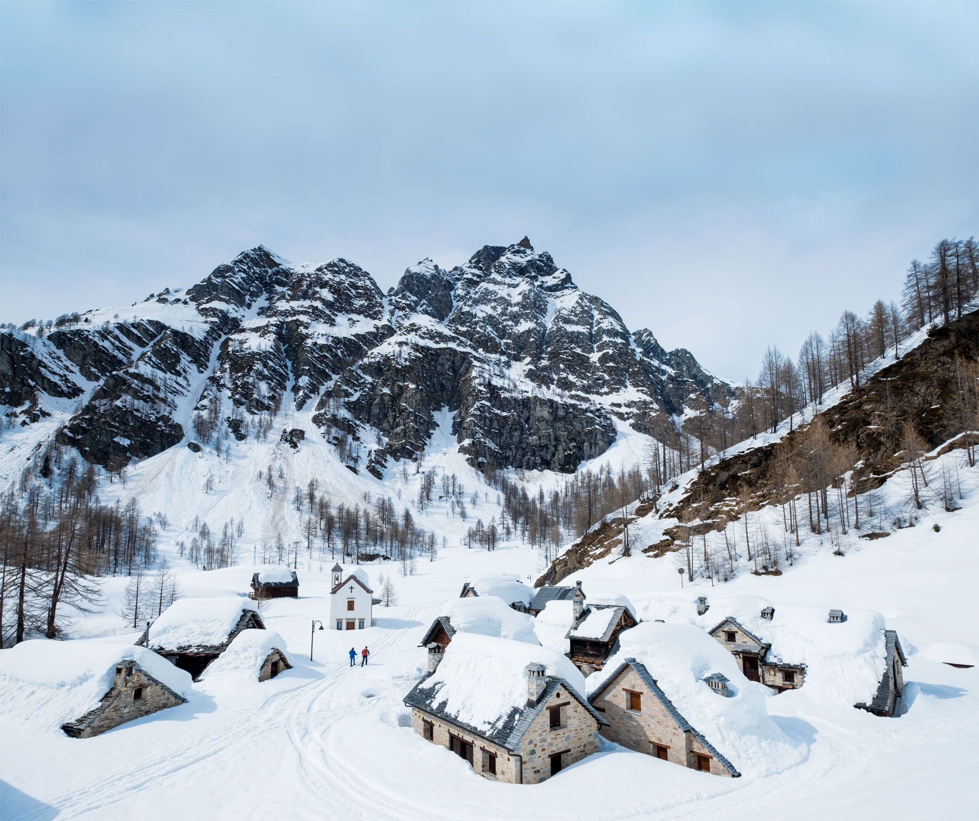 Auf der stillen Seite – Skitouren auf der Hochebene Alpe Devero
