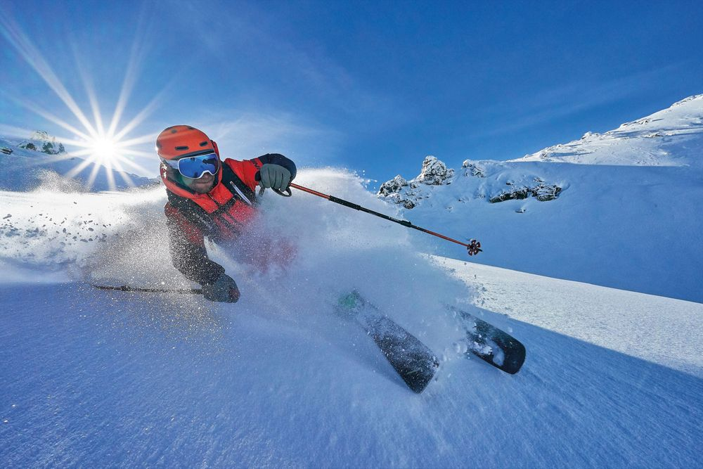 Freeride-Ski