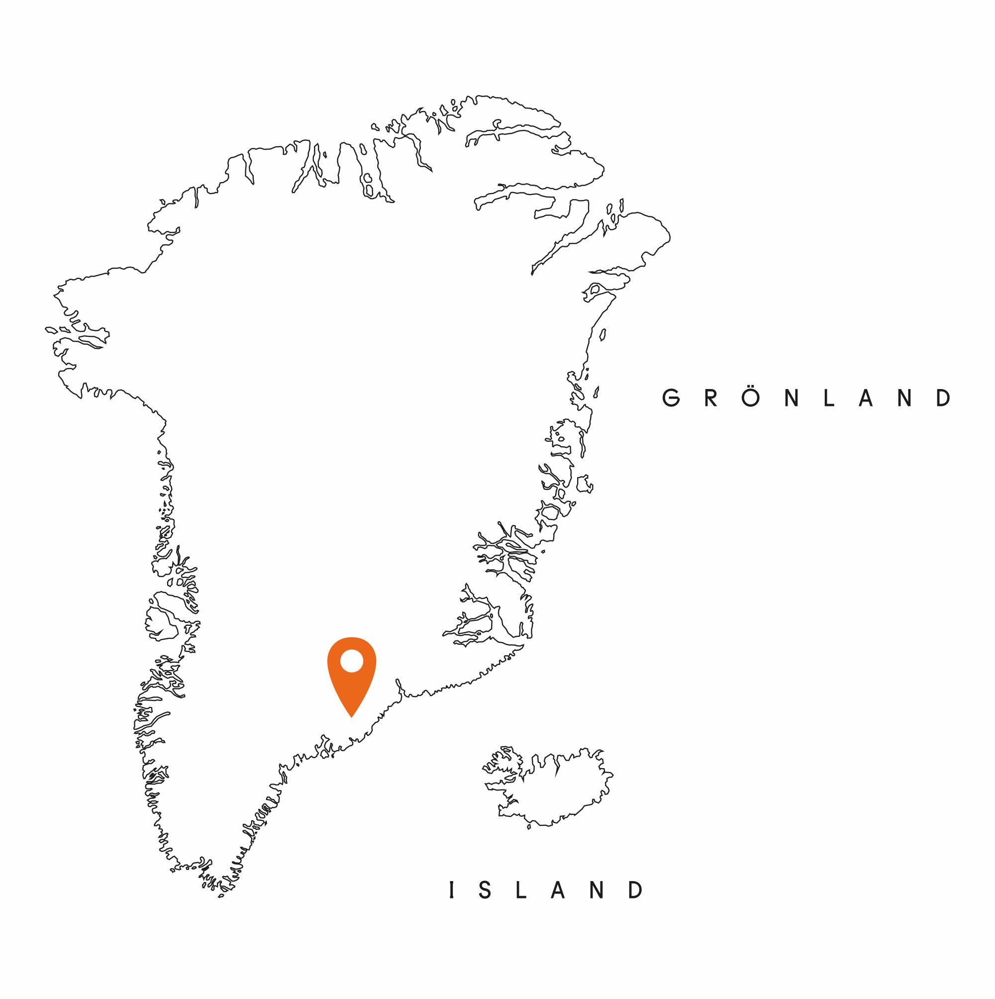 Zuflucht Rotes Haus – Ostgrönland