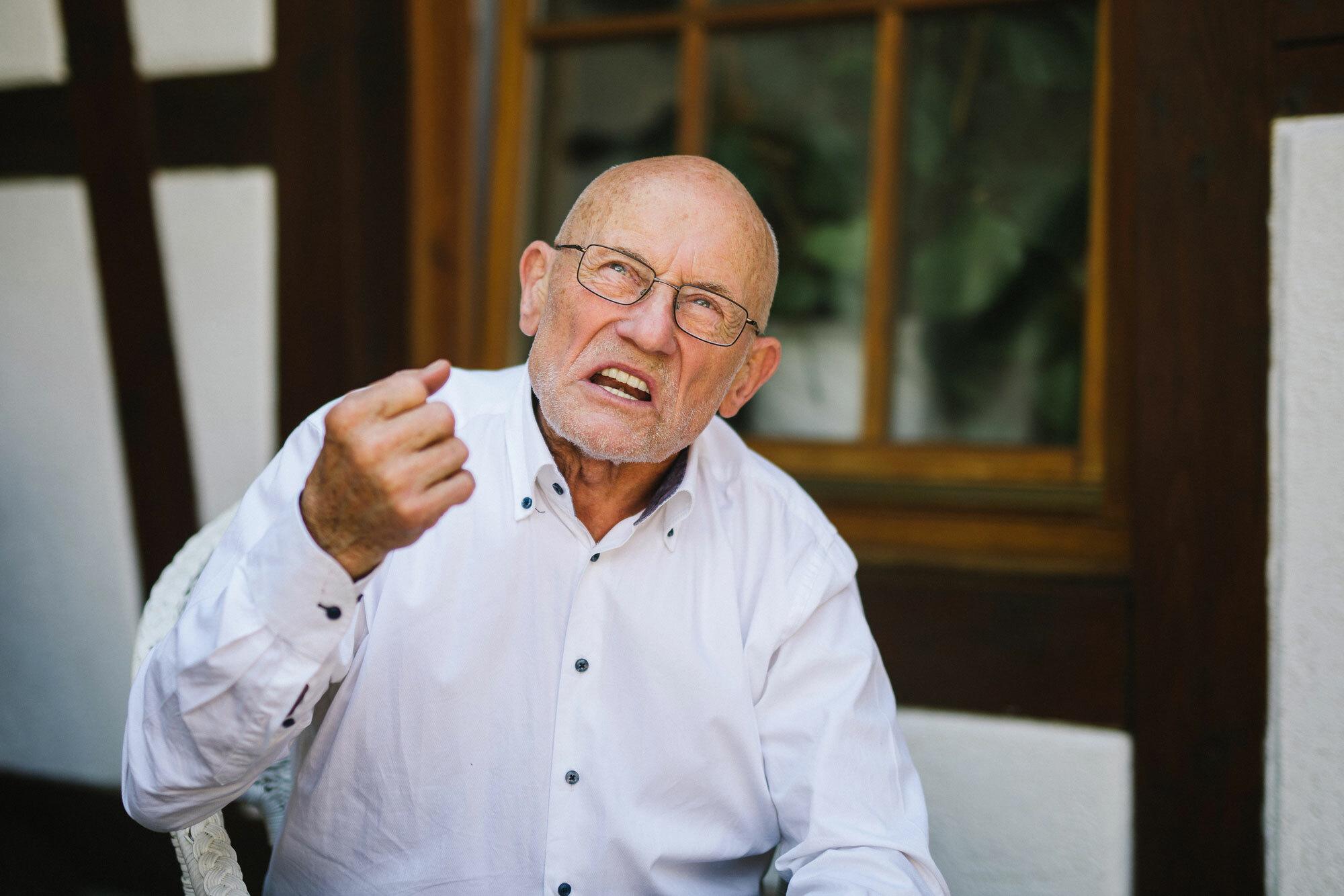 Auf ein Wort mit Abenteurer Rüdiger Nehberg