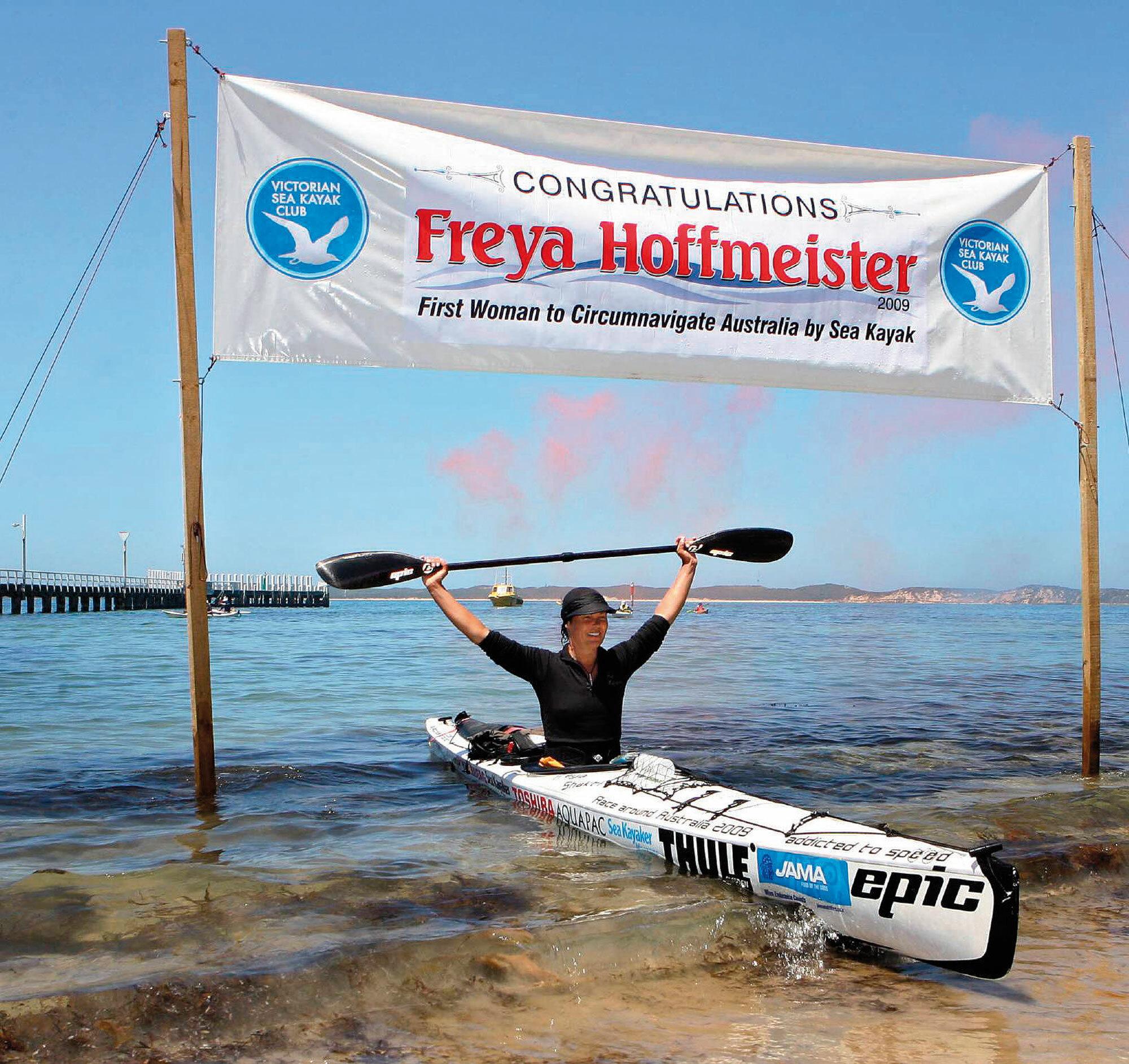 Einmal um Amerika – die Abenteuer der Extrempaddlerin Freya Hoffmeister