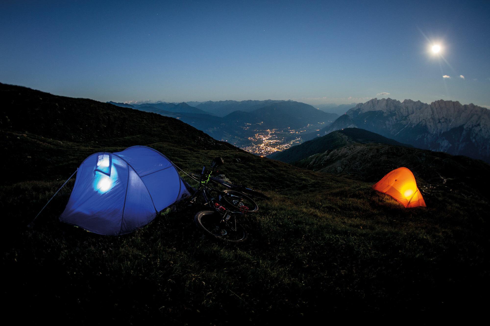 Auszeit für die Seele – Mit Bike und Zelt durch die Lienzer Dolomiten