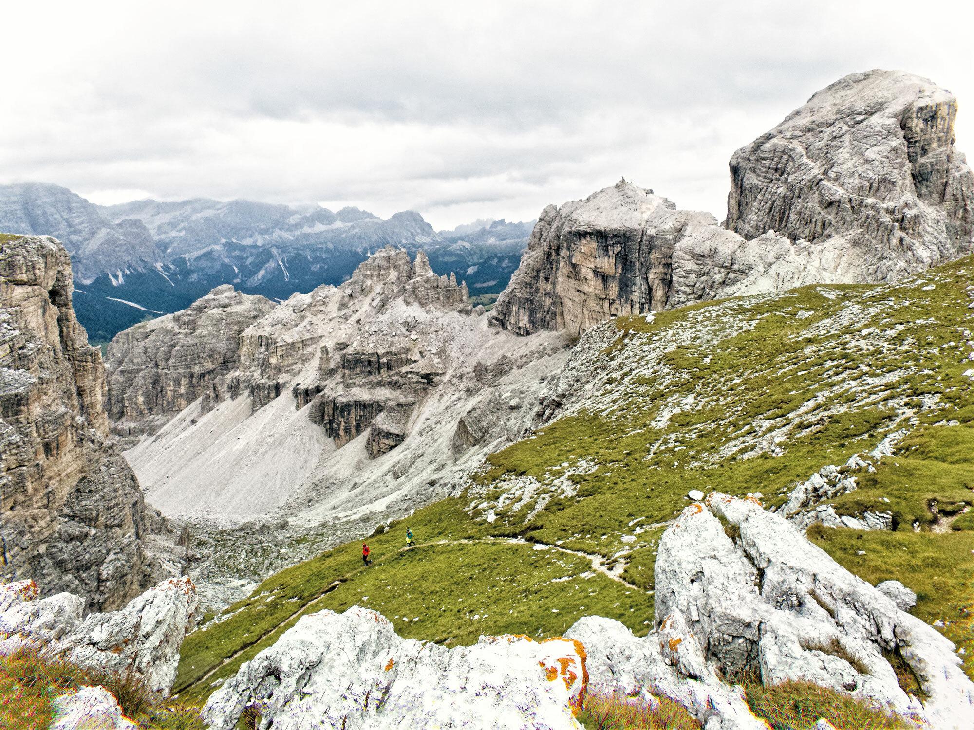 Im Laufschritt zum Höhenflug – Trailrunning in Alta Badia
