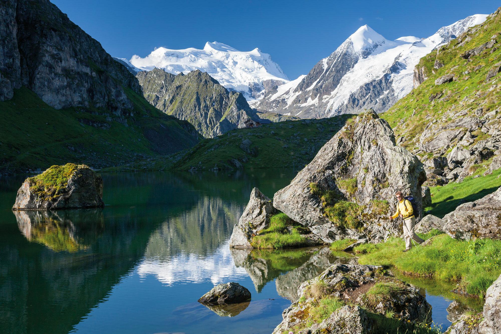 Kämpfende Kühe, wilde Gletscher – Val de Bagnes