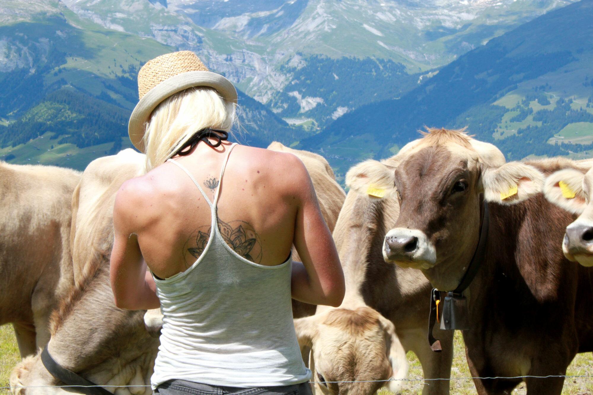 Oben ohne Sorgen – Auf ein Glas Milch mit einer Alp-Managerin