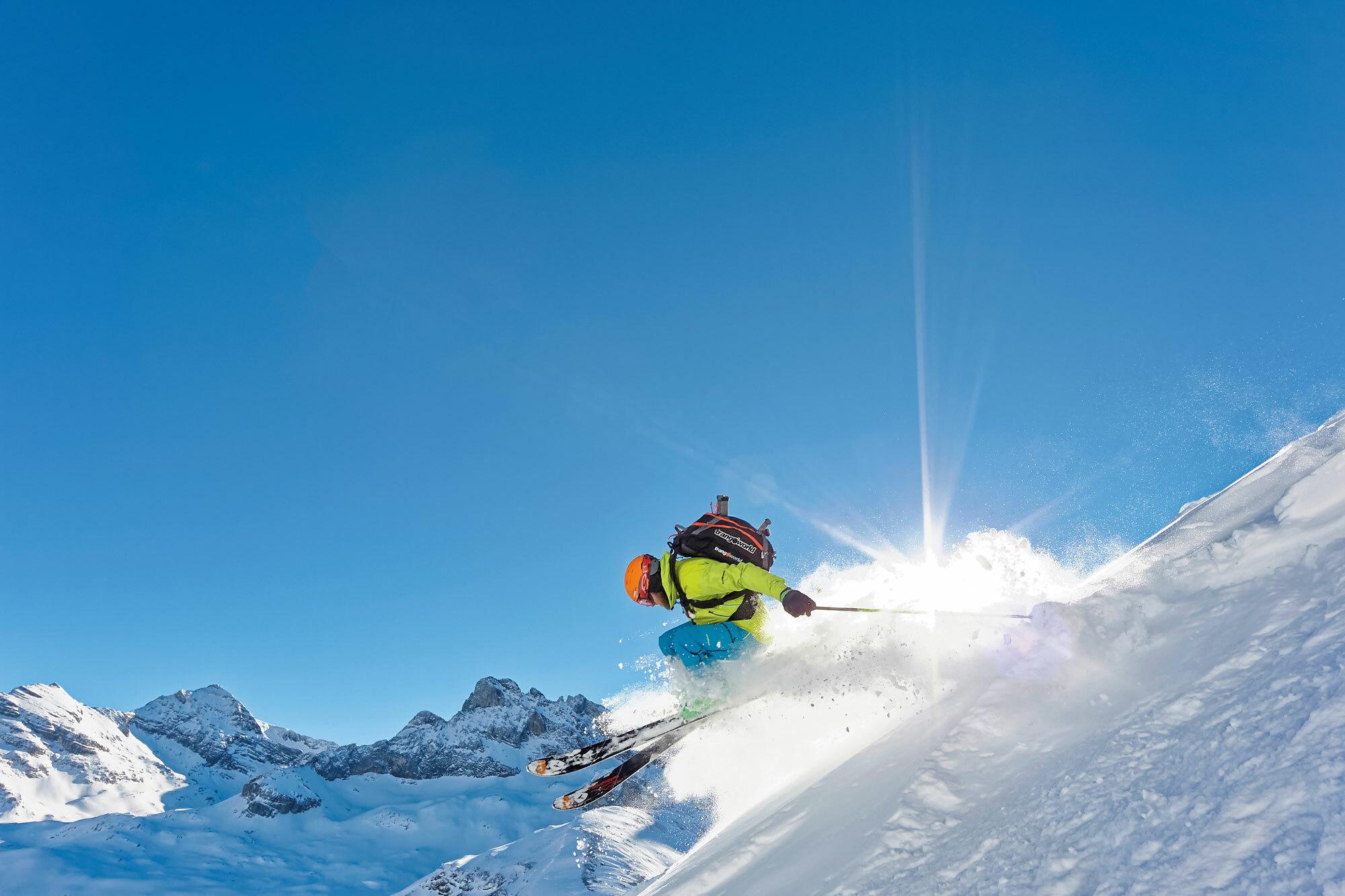 Zeitreise in der Kuhgondel – Skitourensafari in Engelberg
