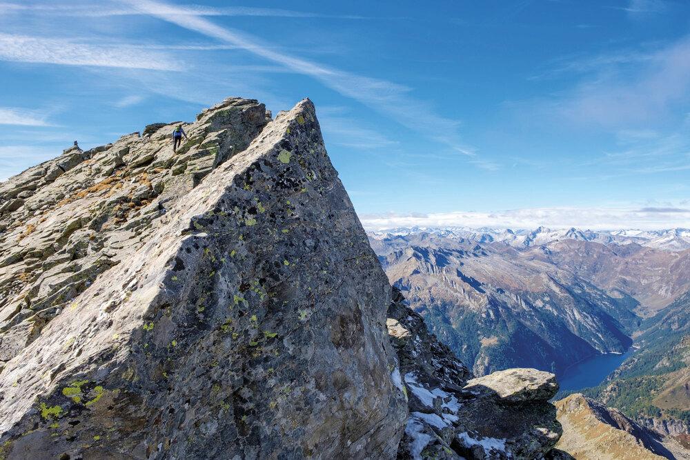 Bekannter See, unbekannter Gipfel – Pizzo Canà / TI