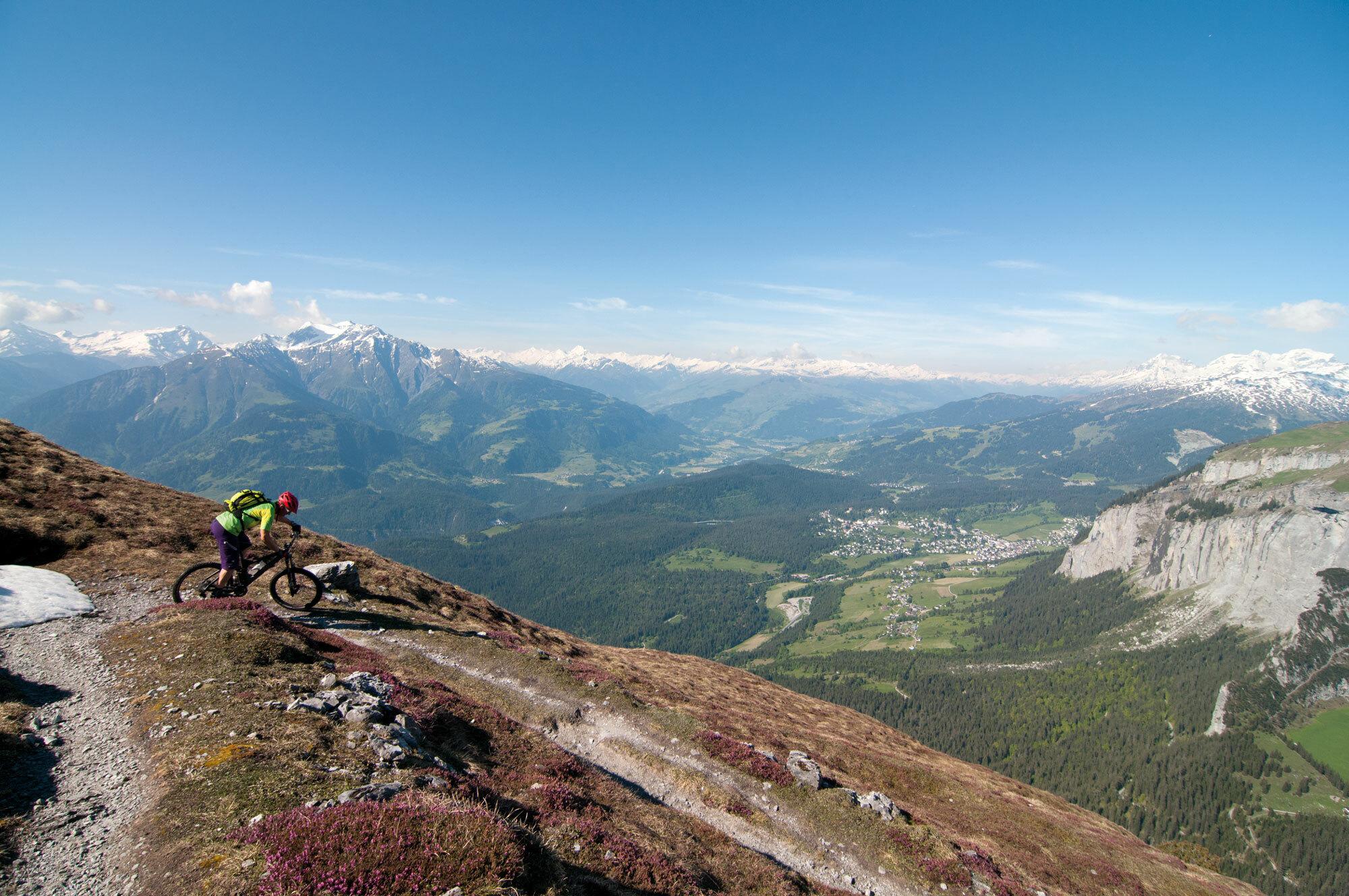 Alpiner Slickrock – Alp Mora / GR