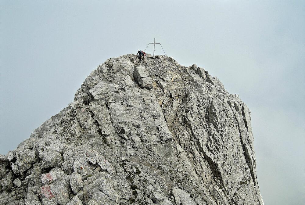 Durch engen Fels