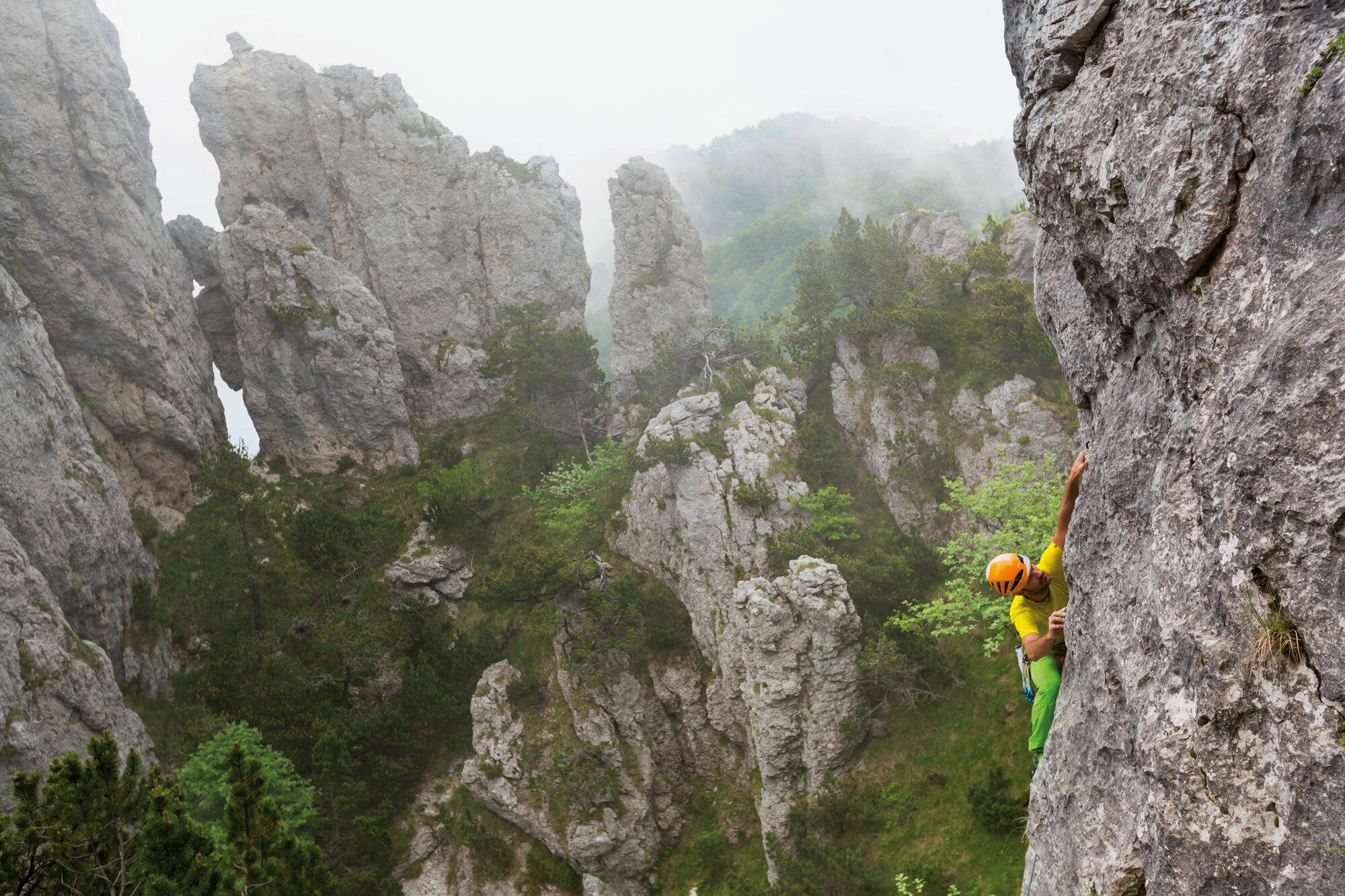 Schmugglerpfad durch die kleinen Dolomiten