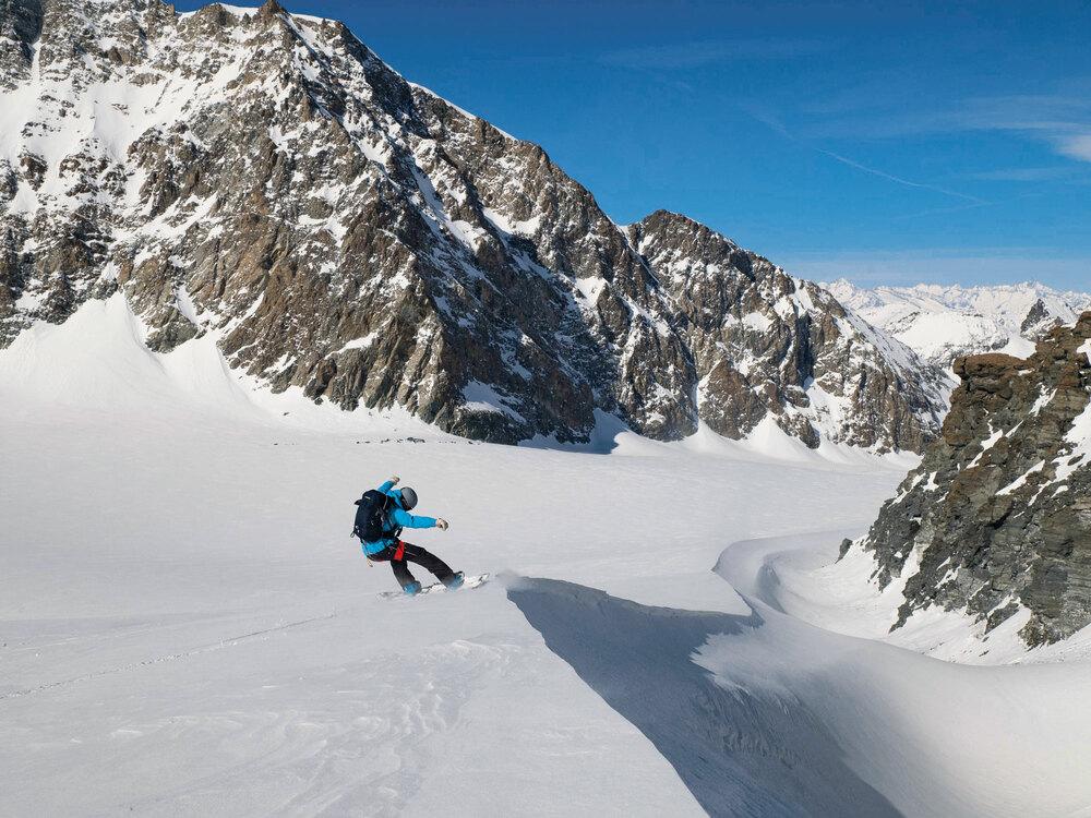 Grandiose Gletscherwelt