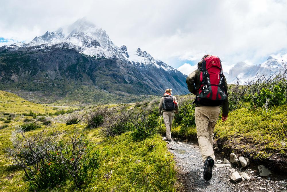 Berg- und Wanderschuhe