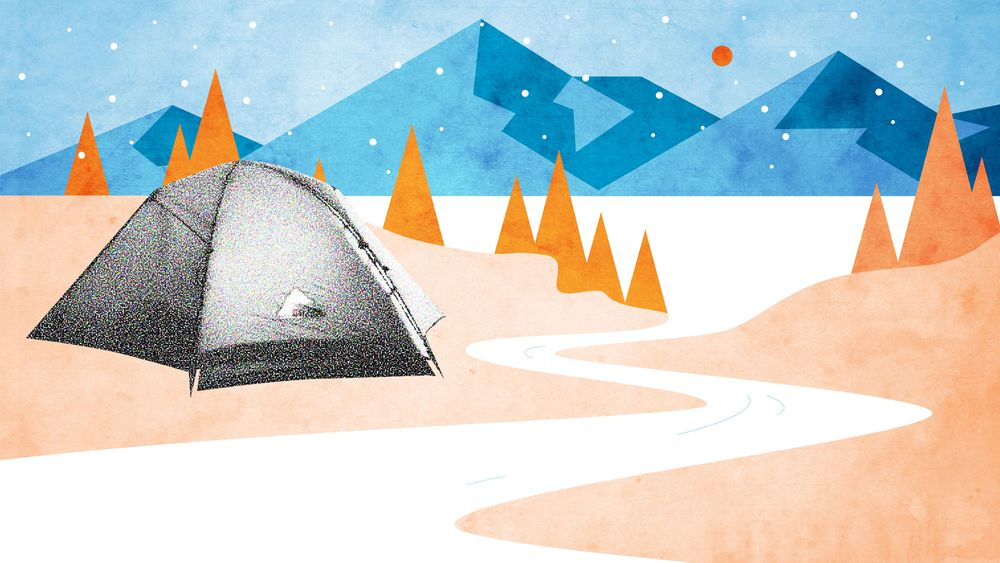 Luxus Probleme – Winter-Glamping