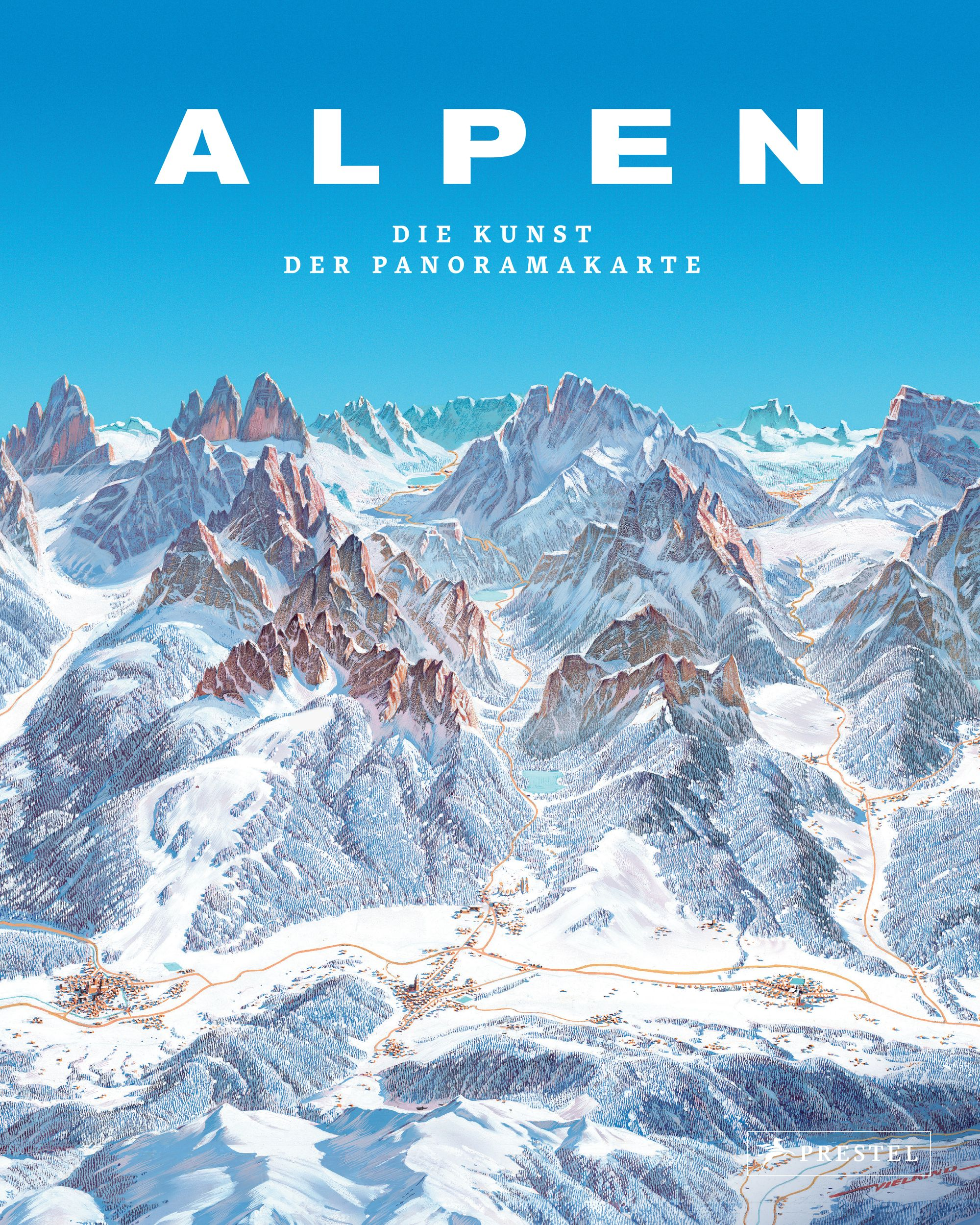 «Alpen. Die Kunst der Panoramakarte»