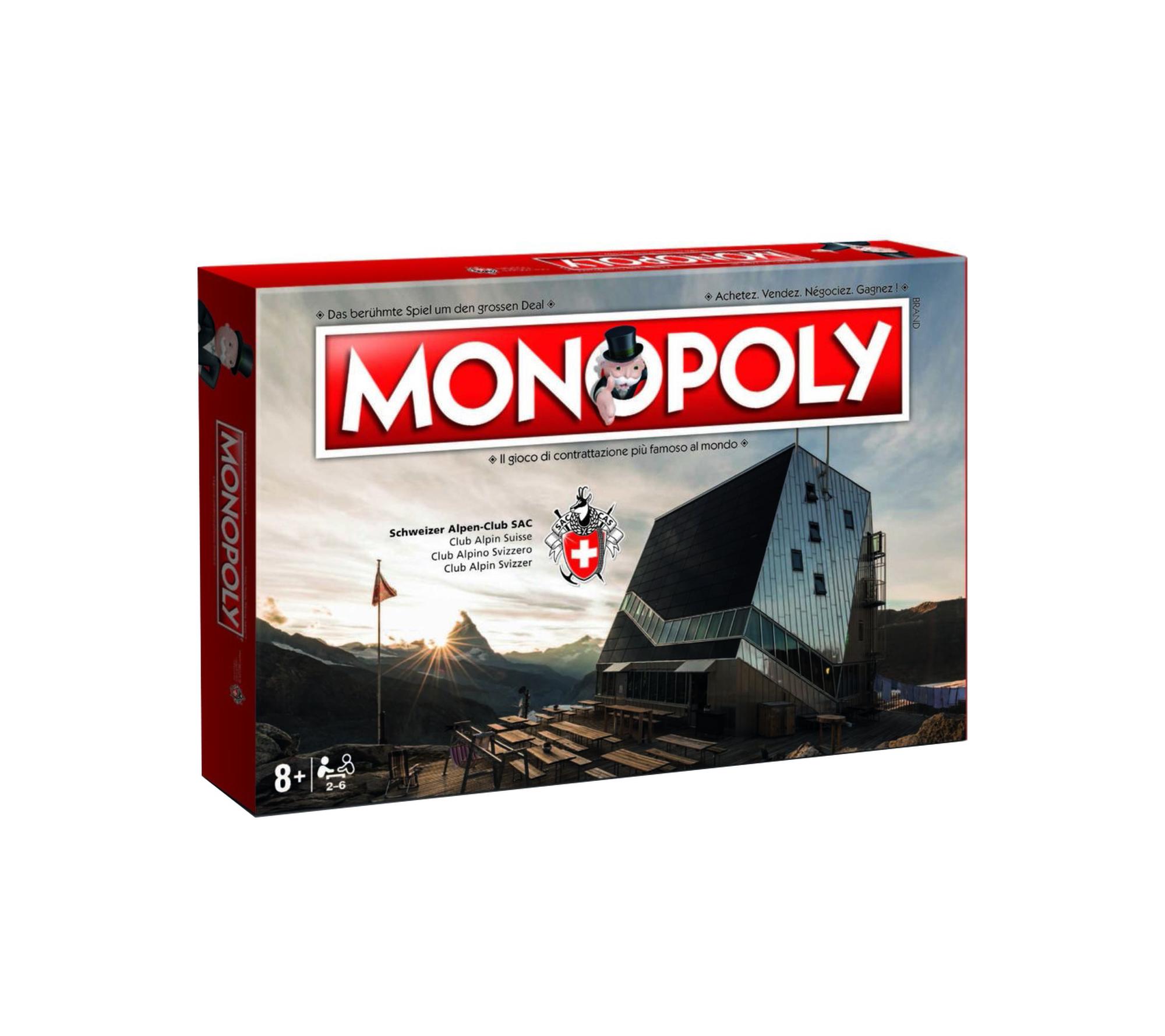 «SAC-Hütten-Monopoly»