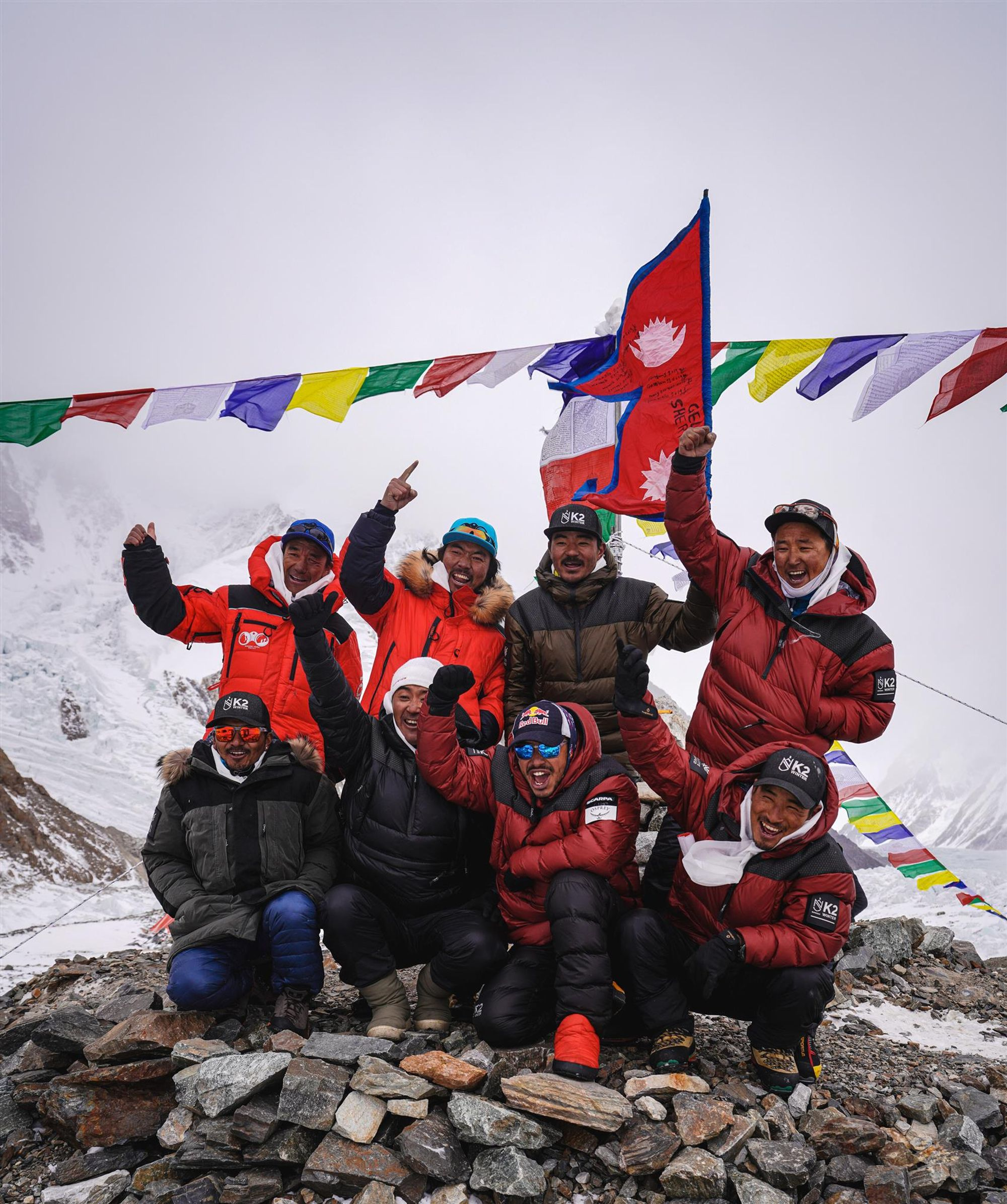 Erste Winterbesteigung des K2 gelungen