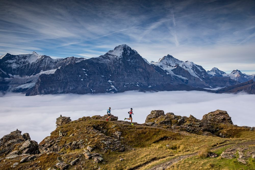 Eiger Outdoor Challenge: alpiner Triathlon am Fusse der Eiger Nordwand
