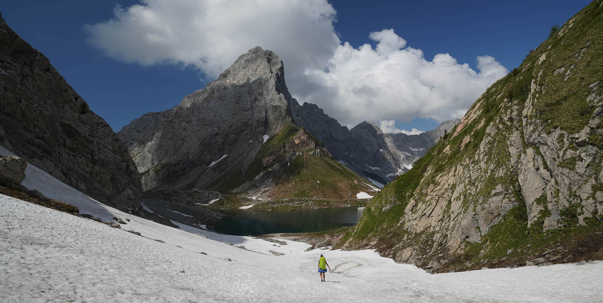 Alpendurchquerung der Superlative:   Auf der Via Alpina in 120 Tagen von Triest nach Monaco