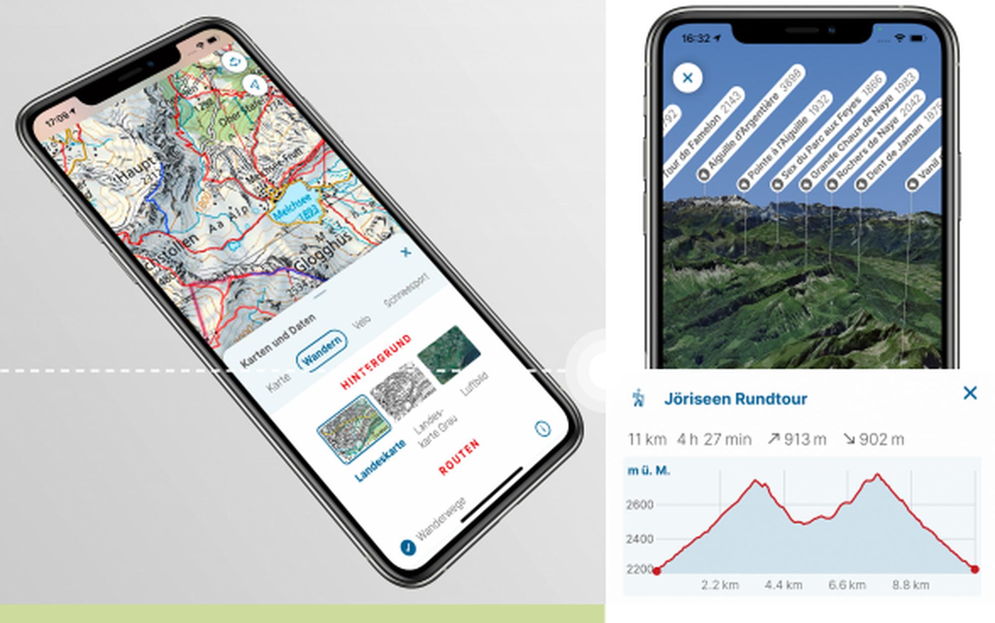 Das Velo Update: swisstopo-App jetzt auch fürs Bike