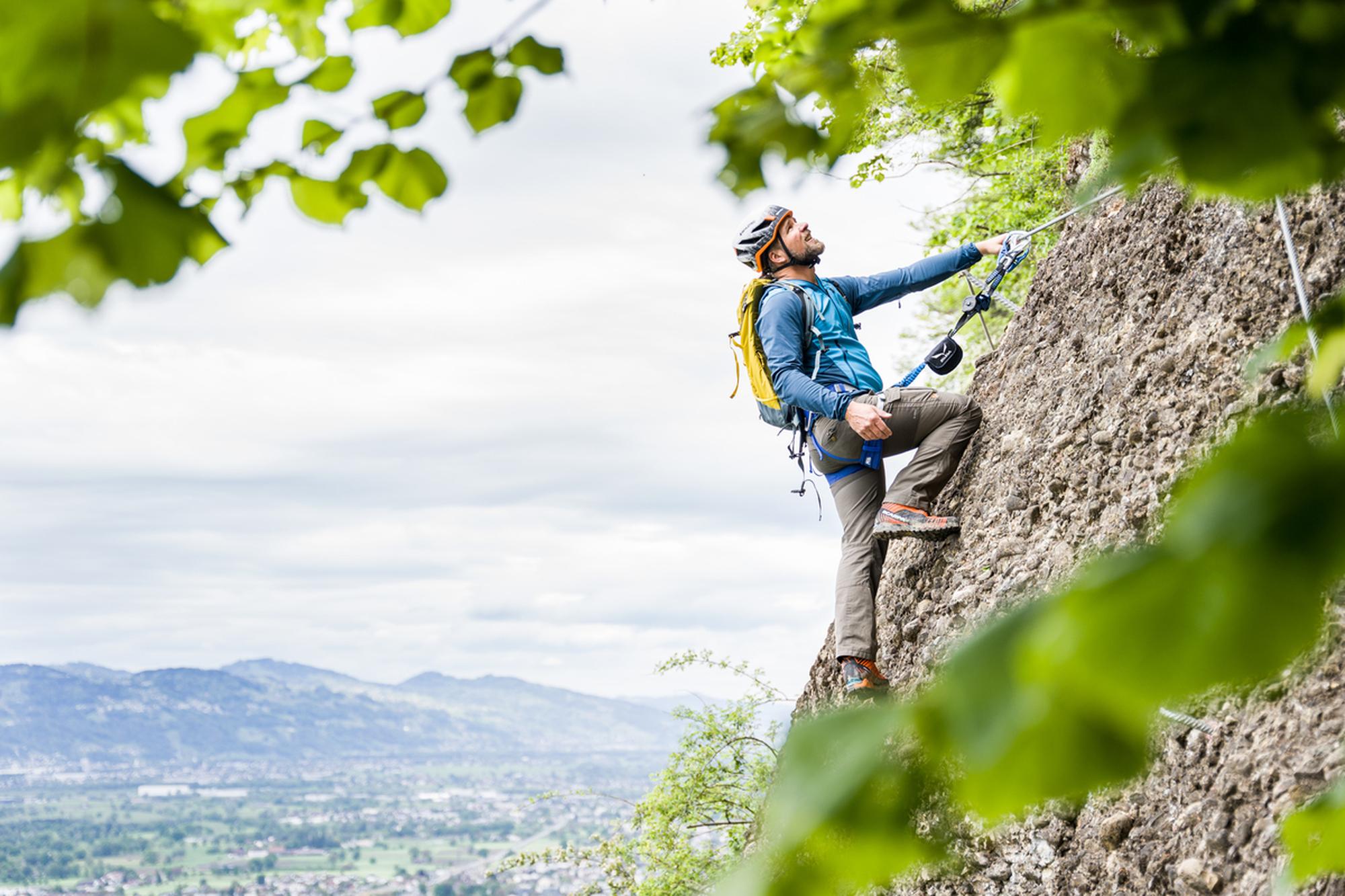 Klettersteigset Test 2021