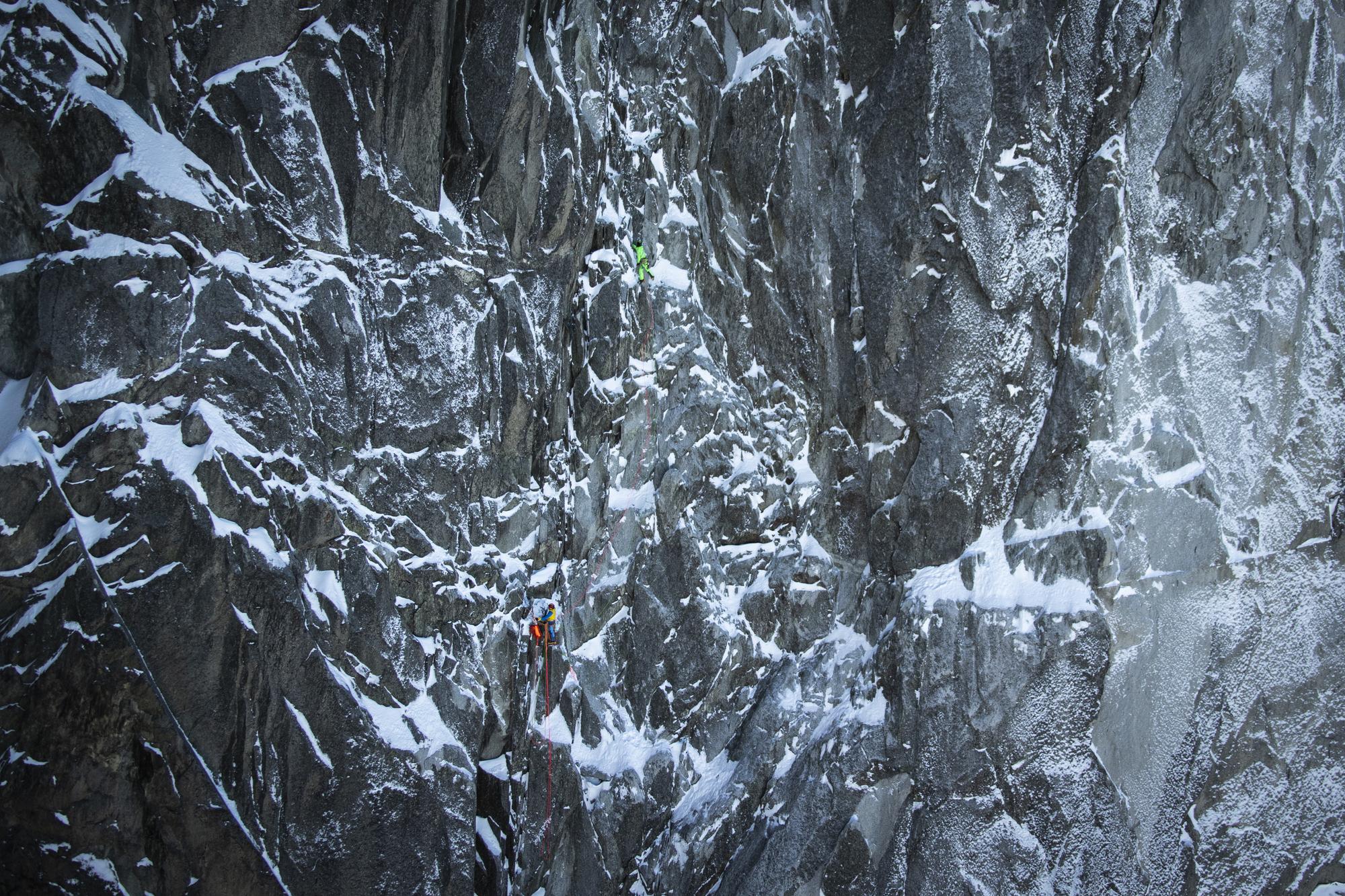 Das NORTH6-Projekt: Gietl und Schäli erklettern die sechs grossen Nordwände