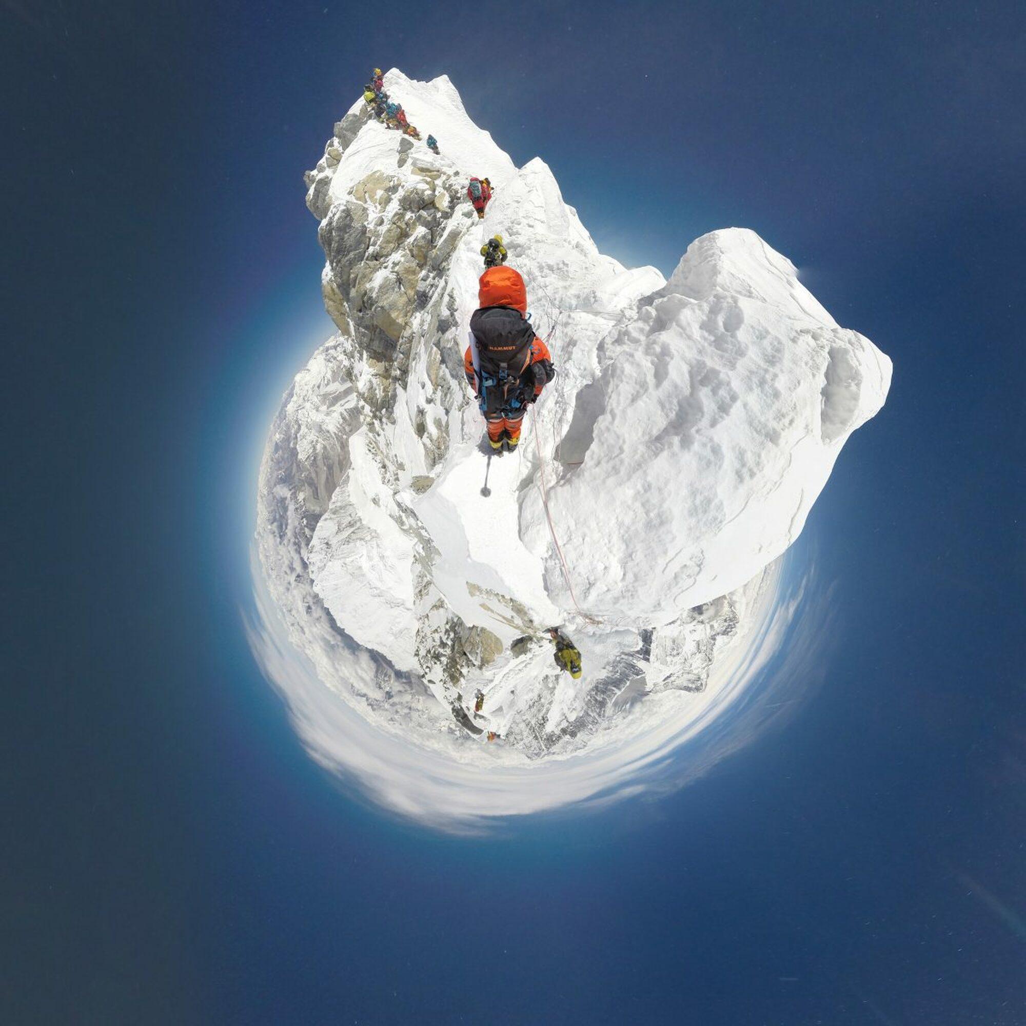 Everest: Erste 360-Grad-Dokumentation der Südroute