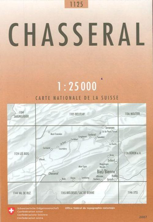 1 : 25 000 Chasseral