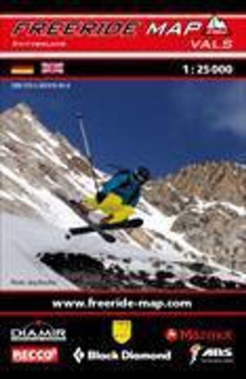 Freeride Map 1:25'000 Vals